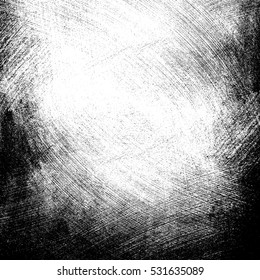 Dust particle on white background, Dust grain texture, dirt overlay, Grunge background.
