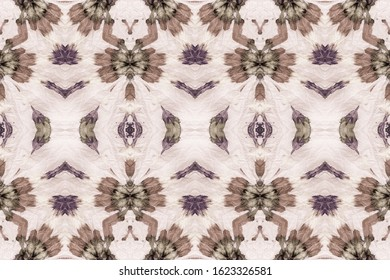 Dusty Tie Dye Batik. Beige Gradient Pattern. Earth Dyed Dirty Art. Nature Brown Folk Oil Ink. Rose Taupe Seamless Banner. Grey Colorful Grunge. Ombre Brush Paint. Grey Watercolor Ink