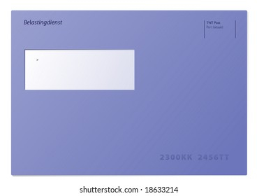 Dutch taxes envelope