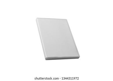 DVD Case Isolated on white background. 3D rendering