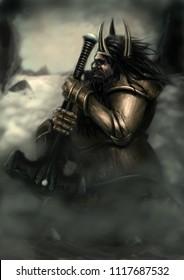 Dwarf prayer warrior