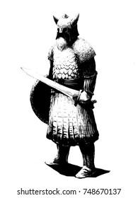 Dwarf warior