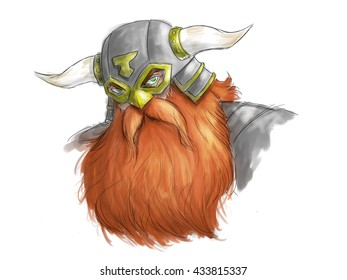 Dwarf Warrior Portrait