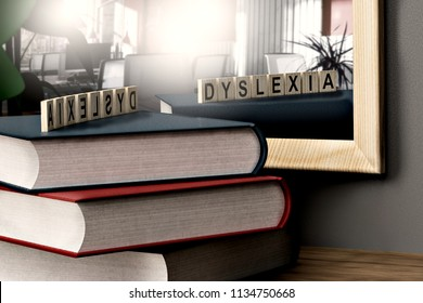 dyslexia is a different intelligence - 3d rendering
