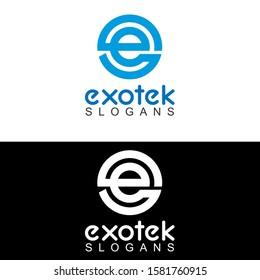 E Letter Logo Template icon design, E Letter Logo
