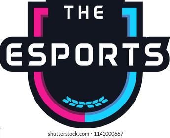 E Sports Badge Logo
