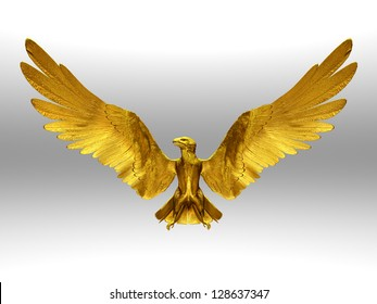 eagle made of gold