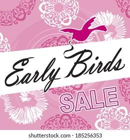 Early Bird Sale Image