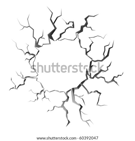 Royalty Free Stock Illustration Of Earth Crack Stock Illustration