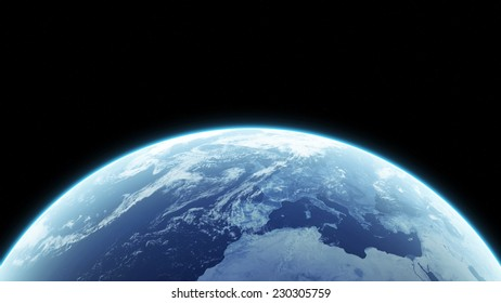Earth. (Elements of this image furnished by NASA)