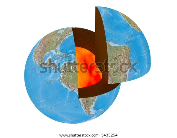 The Earth in a section