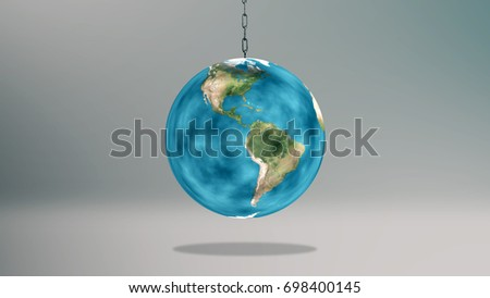 Swinging the earth