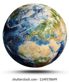 La Planète Terre Stock Illustrations Images Vectors