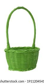 Easter Basket 3D illustration on white background