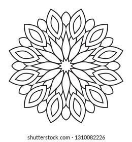 Easy Mandalas Images, Stock Photos & Vectors | Shutterstock