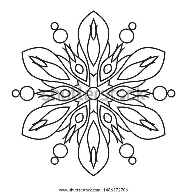 Easy Mandala Doodles Flower Mandalas Pattern ...