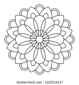 Adult Easy Coloring Pages High Res Stock Images Shutterstock