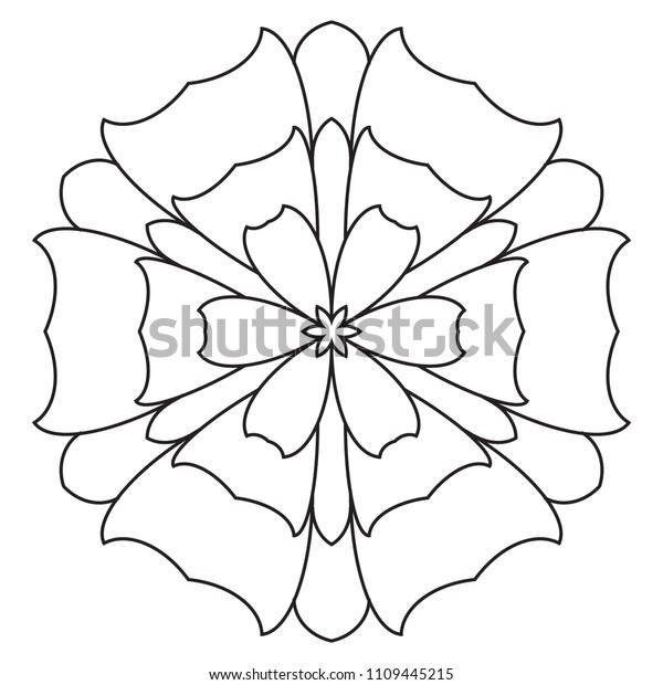 easy mandalas beginners mandala pattern 600w
