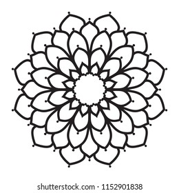 Easy Mandala Images, Stock Photos & Vectors | Shutterstock