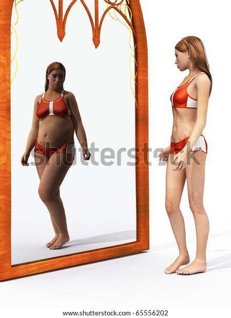 Eating disorder body image