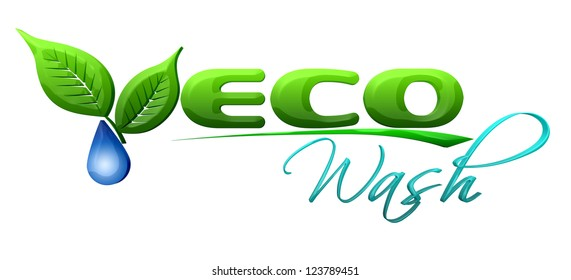 Eco car wash concept