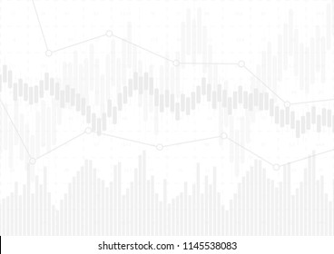 Economic graph with diagrams on the stock market, for business and financial concepts and reports.Abstract background