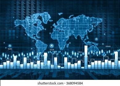 Economical stock market chart