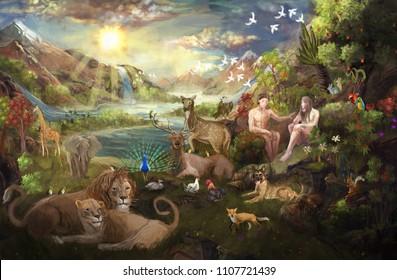 Eden garden Bible