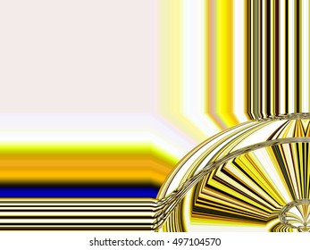 Edges frame Abstract background Laser light multicolored for design , Pattern fame with space for text