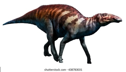 Edmontosaurus 3D illustration