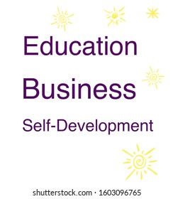 Education, business, and self-development type