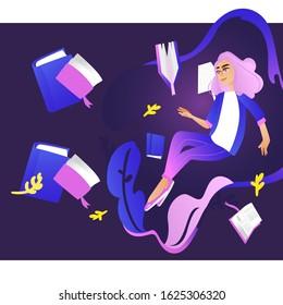 Education Girl magical Girl Photo