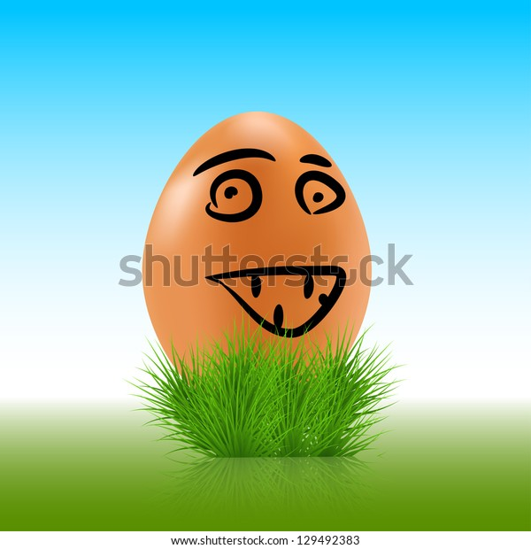 egg face background