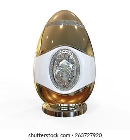 egg jewelry with diamonds