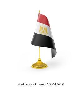 Egypt Flag Detail Render