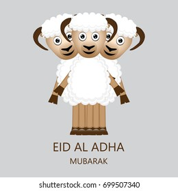 Eid al Adha Mubarak Cardb