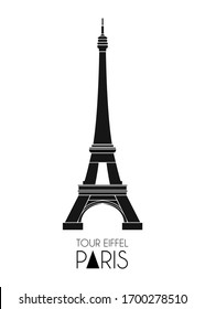 Eiffel Tower Design Paris France