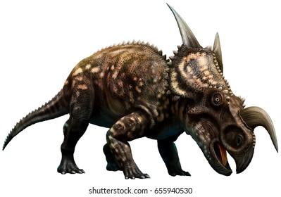 Einiosaurus 3D illustration