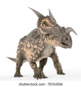 einiosaurus running on