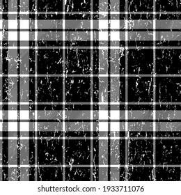 Ekose palid tartan pattern design texture