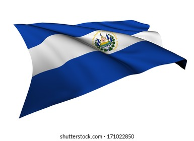 El Salvador flag -