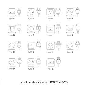 house electrical wire types wiring diagram database Electrical Terminals and Connectors Charts sockets images stock photos vectors shutterstock wire rope connectors types house electrical wire types