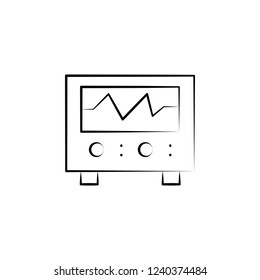 Electrocardiogram, Medical icon. Element of biology icon for mobile concept and web apps. Hand drawn Electrocardiogram, Medical icon can be used for web and mobile