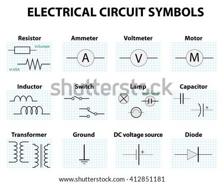 Ammeter Circuit Symbol Data Wiring Diagrams