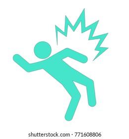 electroshock risk icon