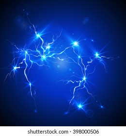 electrostatic discharge, Electric charge background