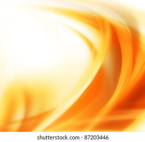 elegant abstract autumn background with smooth lines