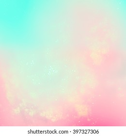 Elegant abstract background. Delicate pastel shades.It sends the holiday mood, ease and joy. Very blurry textures. Interesting intriguing abstract background
