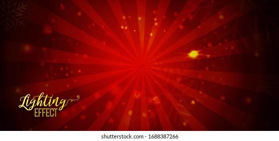 Elegant Abstract Lighting Effect Background