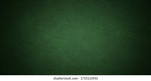 Elegant dark emerald green background with black shadow border and old vintage grunge texture design